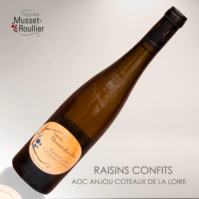 Raisins Confits – AOC Anjou Coteaux de la Loire