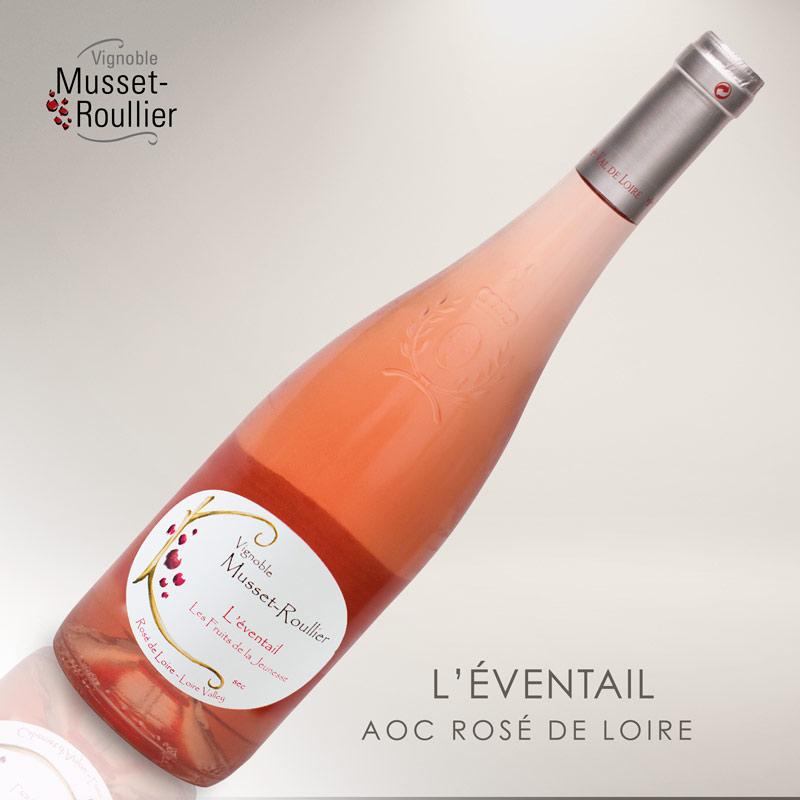 L'Éventail – AOC Rosé de Loire