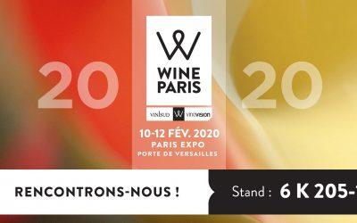 Wine Paris, Porte de Versailles // 10, 11, 12 Février 2020